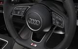 Audi A3 steering wheel