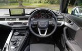 Audi A4 Allroad dashboard