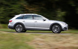 Audi A4 Allroad side profile