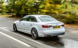 The Audi A4 on test here is the 2.0TDI 190 S Line