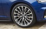 17in Audi A5 alloy wheels