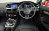 Audi A5 dashboard