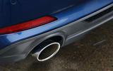 Audi A5 dual-exhaust system