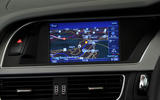 Audi A5 centre console