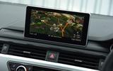 Audi A5 infotainment system