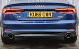 Audi A5 rear end