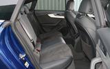 Audi A5 rear seats