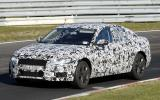 Next Audi A6 caught testing