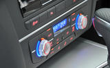 Audi A6 climate controls