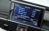 Audi A6 infotainment system