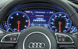 Audi A6 instrument cluster