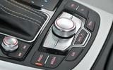 Audi A6 infotainment controls