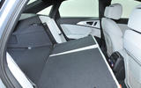 Audi A6 rear seating flexibility