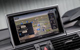 Audi A7 MMI infotainment system