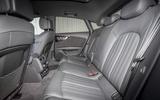Audi A7 rear seats