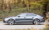 Audi A7 side profile