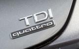 Audi A7 TDI quattro badging