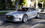 Audi's Prologue concept car driven