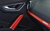 Audi Q2 red interior trim