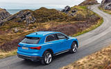 Audi Q3 2018 review - on the road rear