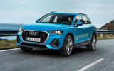 Audi Q3 2018 review - front tracking