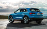 Audi Q3 2018 review - rear static