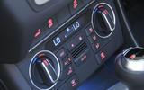 Audi Q3 climate controls