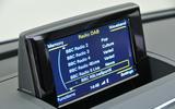 Audi Q3 MMI infotainment system