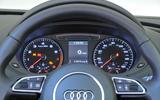 Audi Q3 instrument cluster