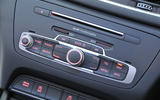 Audi Q3 MMI infotainment controls