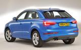Audi Q3 rear quarter