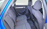 Audi Q3 rear seats