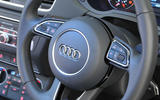 Audi Q3 steering wheel