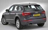 Audi Q5 rear quarter