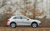 Audi Q5 side profile