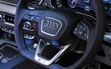 Audi Q5 steering wheel