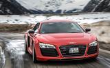 The carbonfibre Audi R8 e-tron