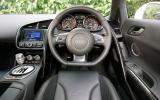 Audi R8 V10's dashboard