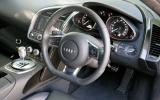 Audi R8 V10's steering wheel