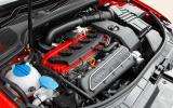 2.5-litre TSI Audi RS3 engine