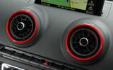 Audi RS3 air vents