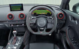Audi RS3 dashboard
