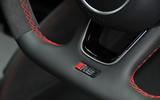 Audi RS3 interior badging