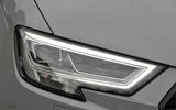 Audi RS3 LED headlights