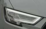 Audi RS3 LED headlights