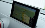 Audi RS3 MMI infotainment system