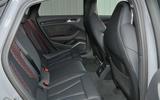 Audi RS3 rear seats