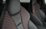 Audi RS3 bucket seats