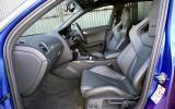 Audi RS4 Avant's front seats
