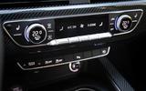 Audi RS4 Avant climate controls